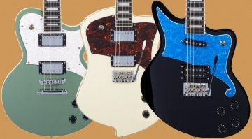 D'Angelico Ludlow Atlantic Bedford E-Gitarre Front Teaser