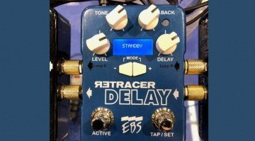 EBS Retracer Delay Pedal NAMM Top
