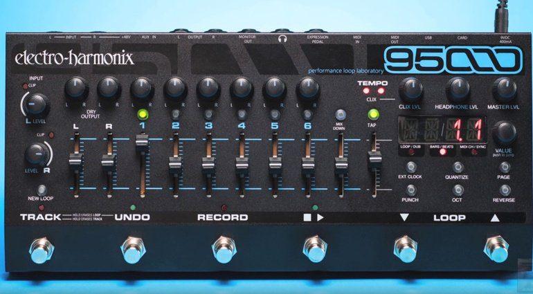 Electro Harmonix 95000 Looper Front