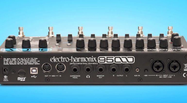 Electro Harmonix 95000 Looper Rueckseite