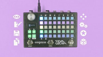 Empress Zoia Multithing Effekt Pedal Front