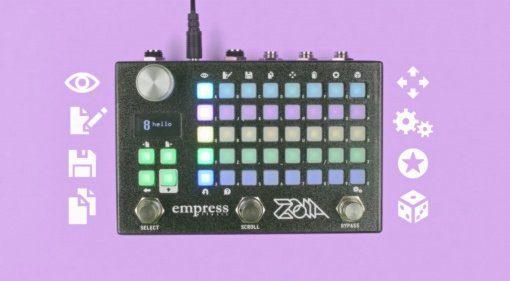 Empress Zoia Multithing Effekt Pedal Front