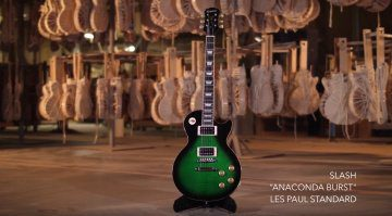 Epiphone Slash Les Paul Signature Front Anaconda Burst Teaser