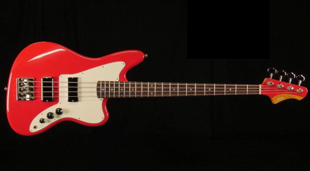 Fano JM4 Bass Dakota Red Front