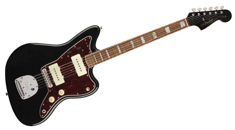 Fender 60th Anniversary Jazzmaster Black Front