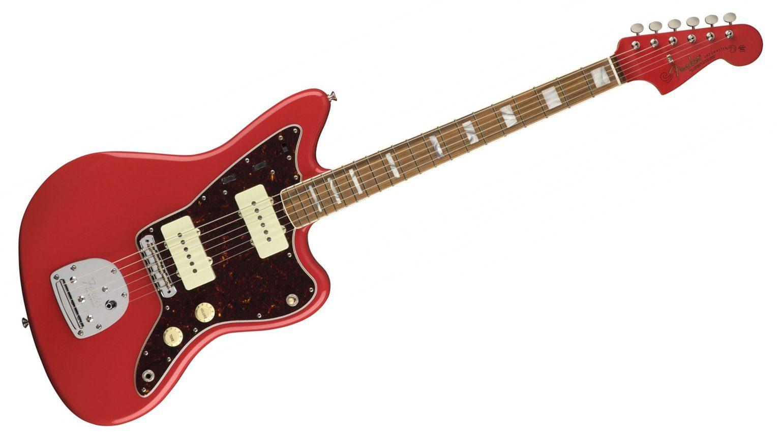 Fender 60th Anniversary Jazzmaster Fiesta Red Front