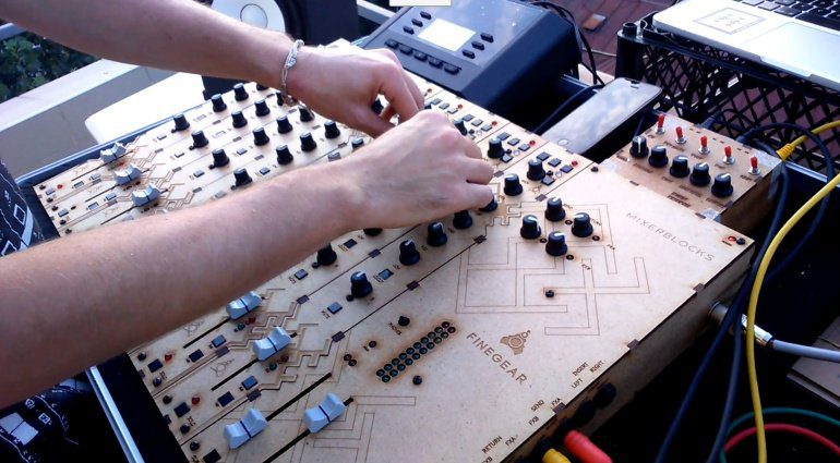 NAMM 2018: Finegear Mixerblocks - das modulare Mischpult