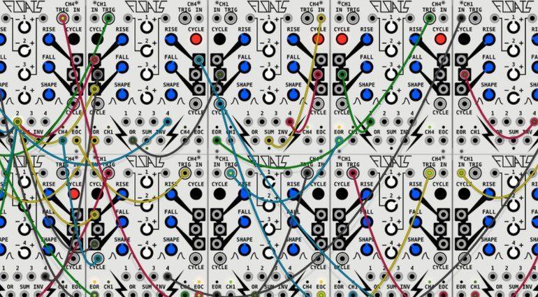 Friedrichs Audio Floats - der Make Noise Maths Software Klon