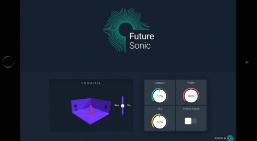 Akustische Räume am iPad gestalten mit FS FreezeVerb