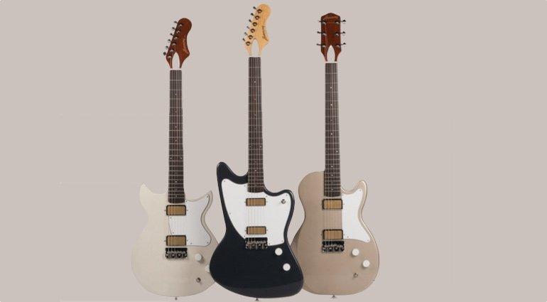 Harmony E-Gitarren Silhouette Rebel Jupiter