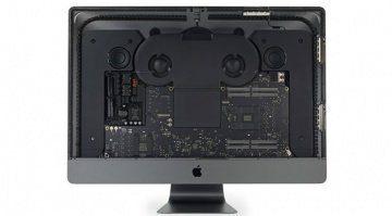Von iFixit zerlegter iMac Pro ohne Display