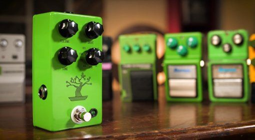 JHS Bonsai Tube Screamer Pedal Front