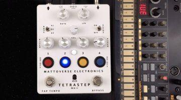 Mattoverse Electronics Tetrastep MKII - Vier-Noten-Sequencer im Pedal Format