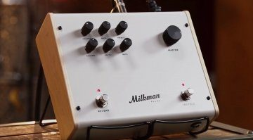 Milkman The Amp Front Amo in a Pedal