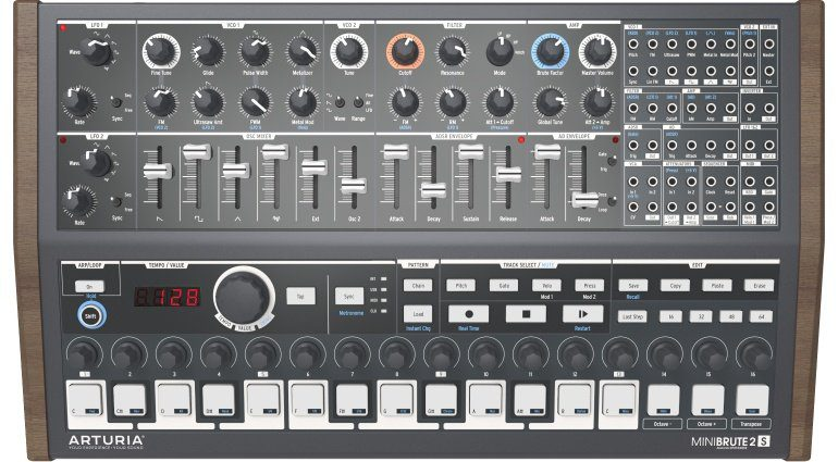 MiniBrute 2S Sequencer