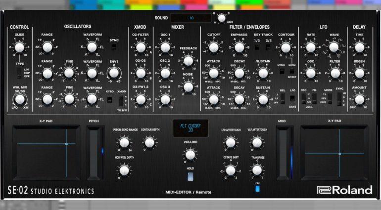 Momo Müller veröffentlicht Roland SE-02 VST-Controller
