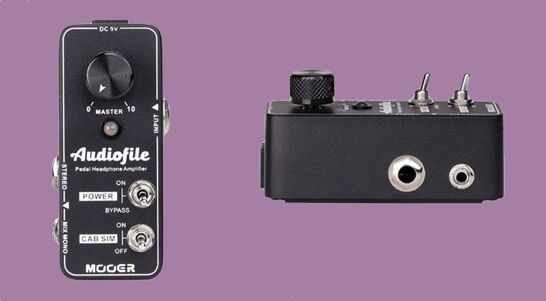 Mooer Audiofile Pedal Headphone Amp