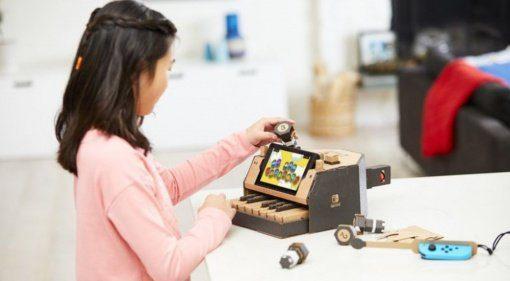 Mit Nintendo Labo baut ihr eigene Synthesizer aus Pappkarton