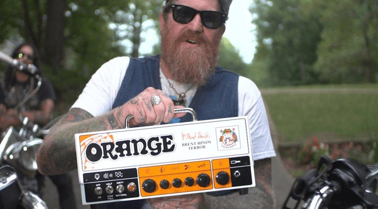 Orange Brent Hinds Terror MAstodon SIgnature Teaser