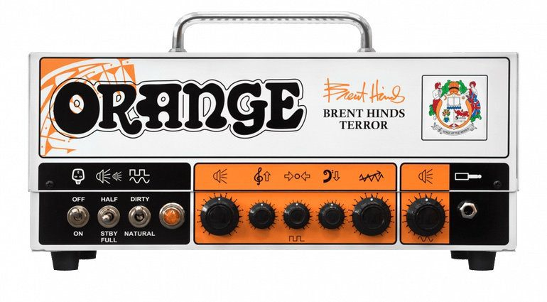 Orange Brent Hinds Terror MAstodon SIgnature
