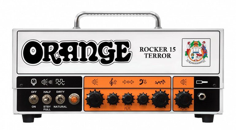 Orange Rocker 15 Terror HEad