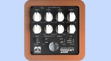 Palmer Pocket Amp Acoustic Preamp Pedal Teaser
