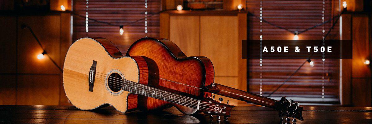 PRS SE Akustikgitarrre A50E T50E