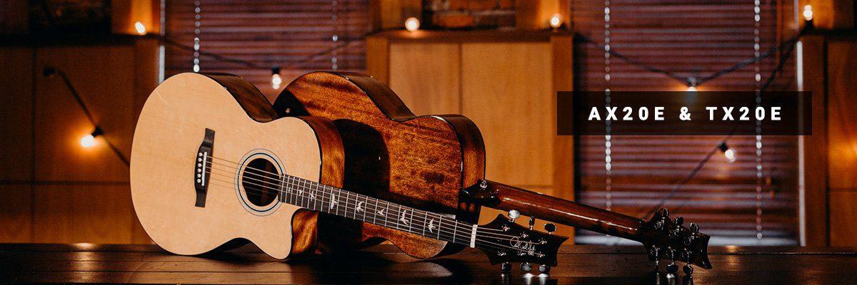 PRS SE Akustikgitarrre AX20E TX20E