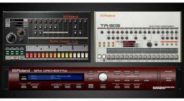 Roland TR-808 und TR-909 jetzt in der Cloud