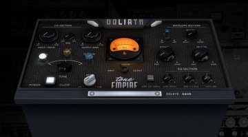 Tone Empire startet mit Channelstrip Plug-in Goliath