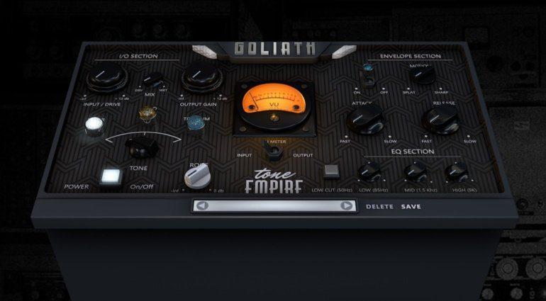 Tone Empire startet mit Channelstrip Plug-in Goliath
