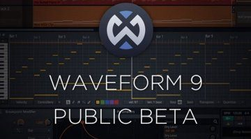 tracktion waveform9 beta