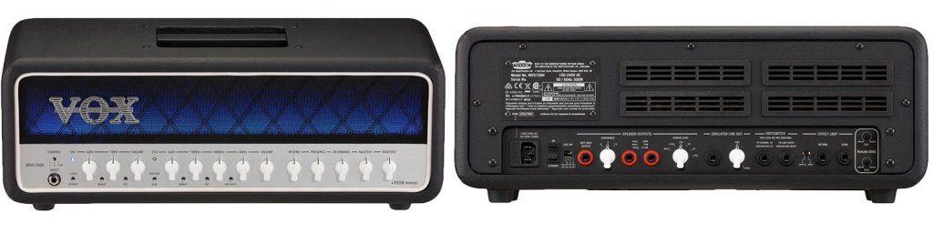 Vox MVX150 Amp Front Back copy