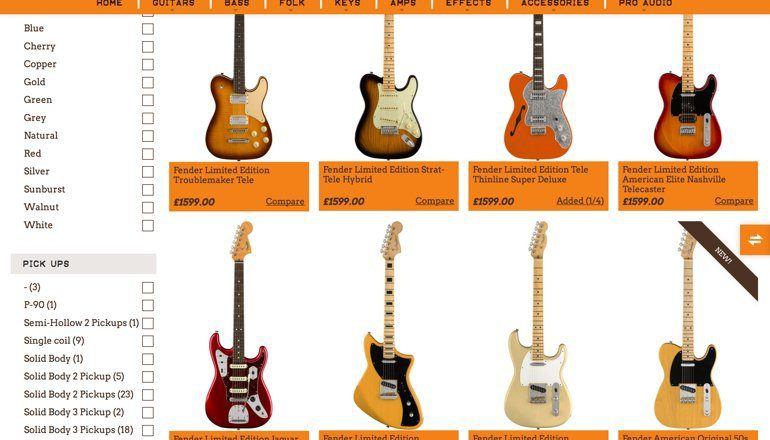 Wunjo Guitars leakt das neue Fender 2018er Lineup