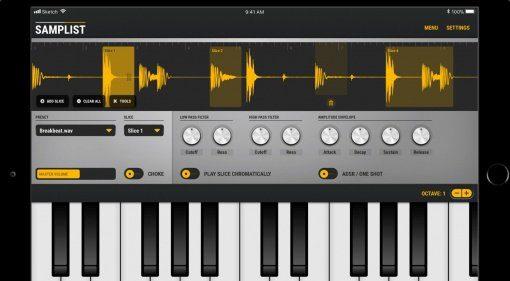 Alex Buga veröffentlicht den iOS MIDI-Sampler Samplist