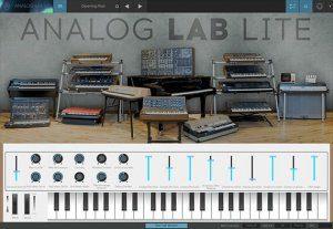 Arturia Analog Lab Lite Plug-in