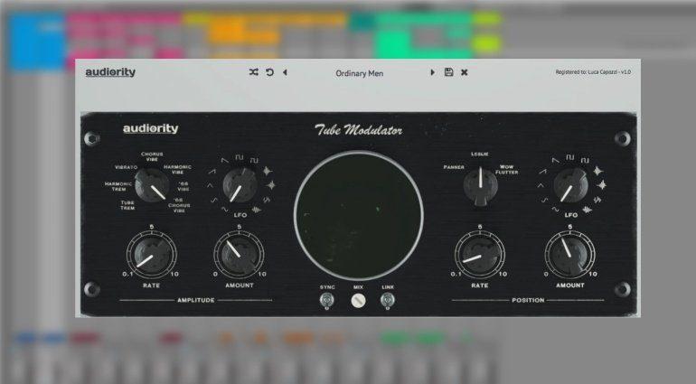 Auditory Tube Modulator Plug-in GUI