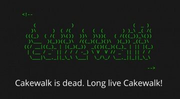 Cakewalk BandLab Technologies Announcement
