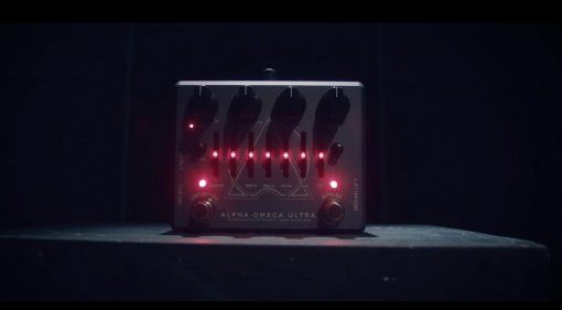 Darkglass Alpha Omega Ultra Bass PEdal Effekt