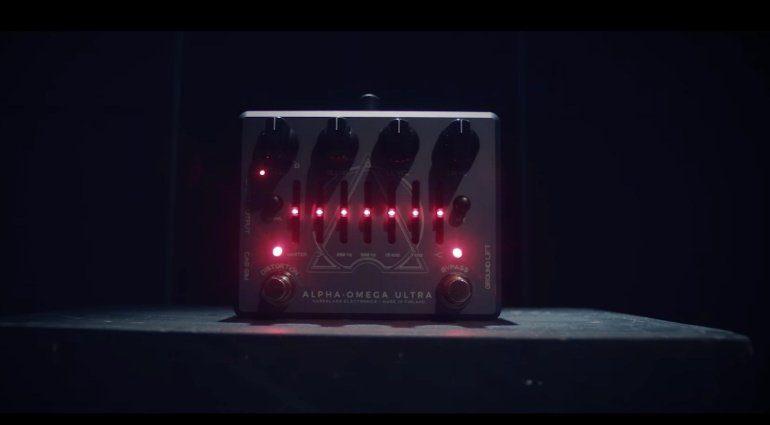 Darkglass Alpha Omega Ultra Bass PEdal Effekt