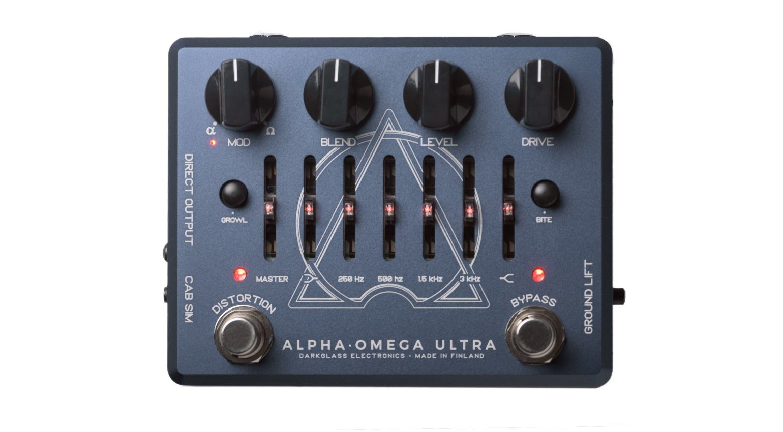 Darkglass Alpha Omega Ultra Bass PEdal Effekt Solo