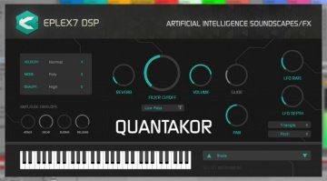 Eplex7 DSP Quantakor - der mitdenkende VST Synthesizer
