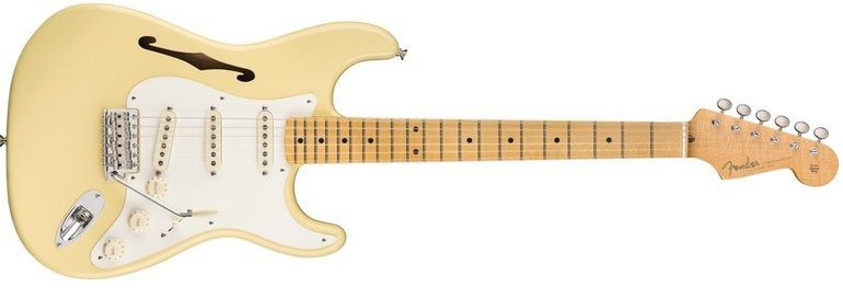 Fender Eric Johnson Signature Stratocaster Thinline F-Hole Front