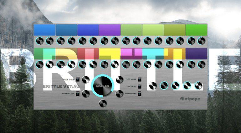 Flintpope Brittle - kostenloses musizieren durch Farben