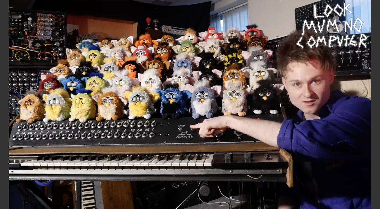 Furby Orgel Mit Einstellbarem Cicuitbending Fr 44 Tiere Furbycircuitbendingjpg