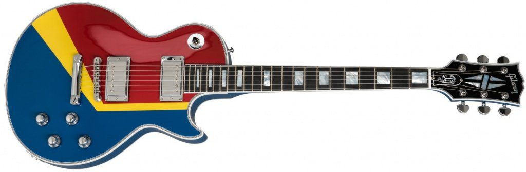Gibson Les Paul Custom Boogie Van Front Super Hero