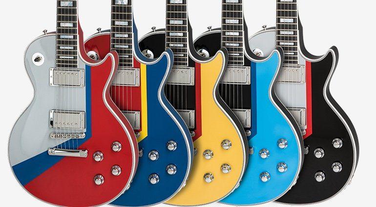 Gibson Les Paul Custom Boogie Van Serie Front