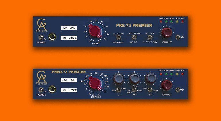 Golden Audio PRE 73 Premier und PREQ-73 Premier