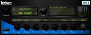 Lexicon MPX-i Reverb PLug-in