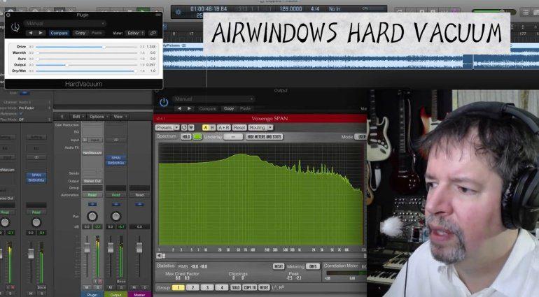 Airwindows verschenkt Hard Vacuum für OSX, Windows und Linux